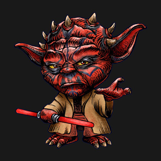 Star Wars Darth Yoda T-Shirt