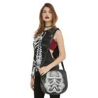 Star Wars Day Of The Dead Stormtrooper Saddle Bag