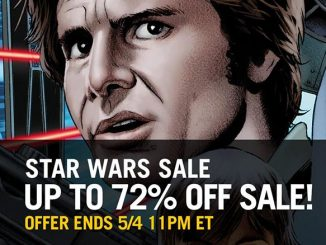 Star Wars Day Sale ComiXology