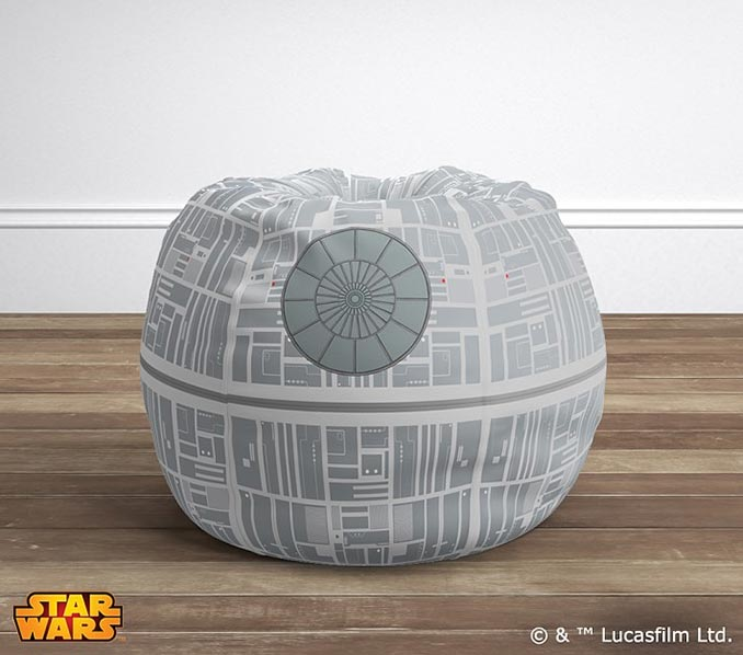Star Wars Death Star Anywhere Beanbag