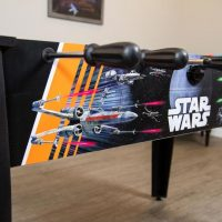 Star Wars Death Star Assault Foosball Table Side