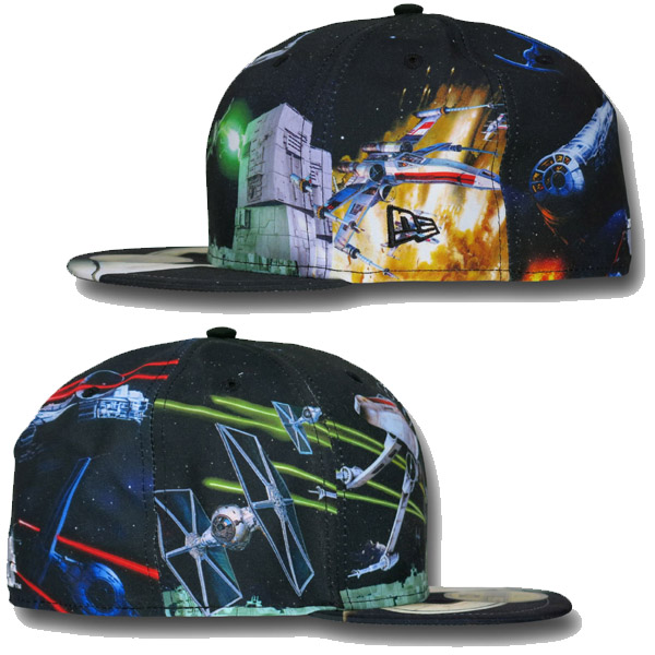 Star Wars Death Star Battle 59Fifty Cap Sides