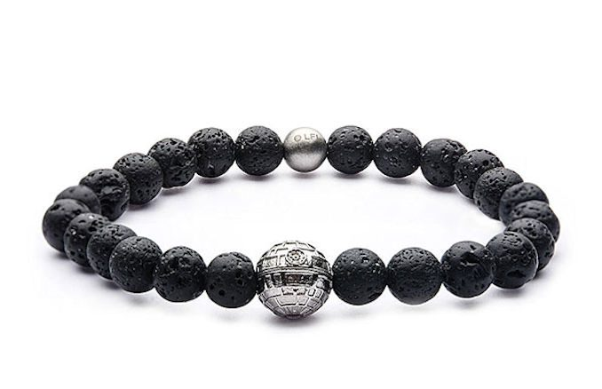Star Wars Death Star Bead Bracelet