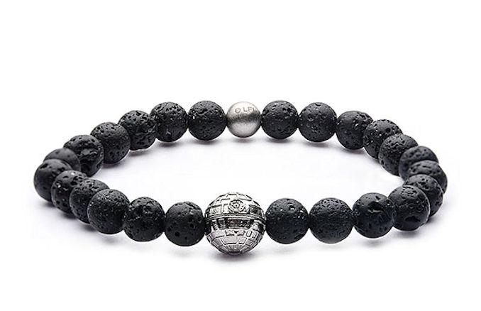 Star Wars Death Star Bead Bracelet