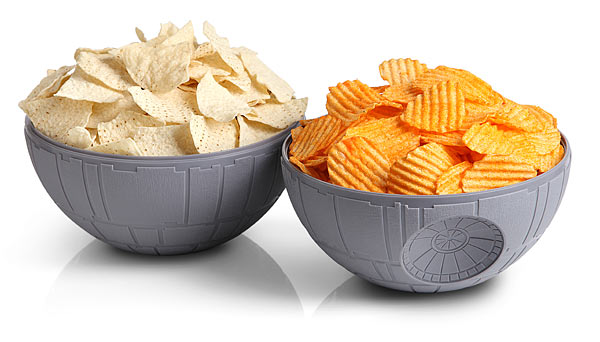Star Wars Death Star Chip  Dip Bowls
