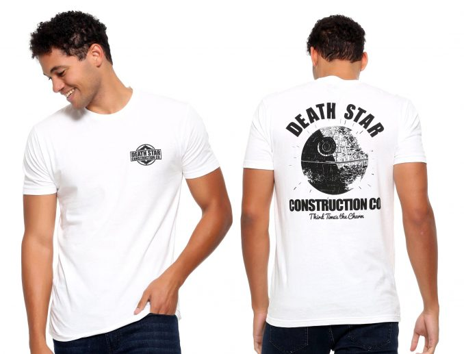 Star Wars Death Star Construction T-Shirt