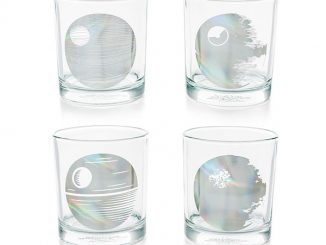 Star Wars Death Star Glasses Set of 4