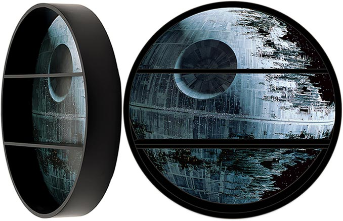 Star Wars Death Star Shelf