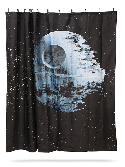 Star Wars Death Star Shower Curtain