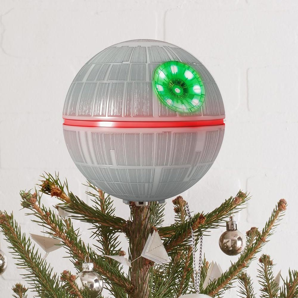 Death Star Christmas Tree Topper Geekalerts