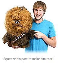 Star Wars Deluxe Talking Chewbacca