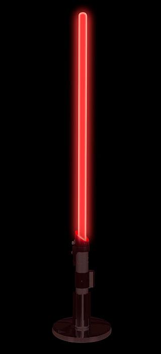 Star Wars Desktop Lightsaber Lamp