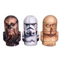 Star Wars Dome Figural Tin Bank Set