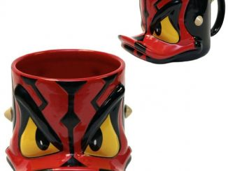 Star Wars Donald Duck Darth Maul Mug