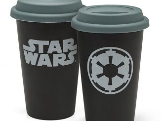 Star Wars Double Wall 12oz Ceramic Travel Mug