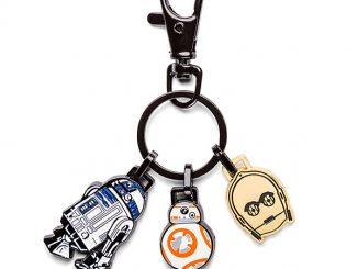 Star Wars Droid Heroes Enamel Keychain