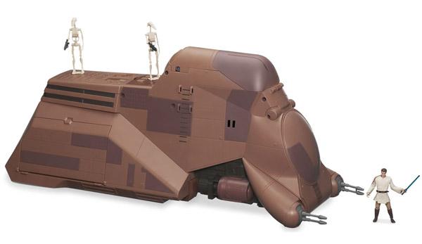 Star Wars Droid Transport - closed