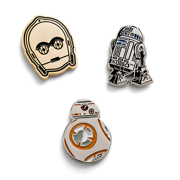 Star Wars Droids 3-Pack Pin Set