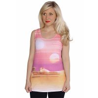 Star Wars Dual Sunset Ladies Tank Top