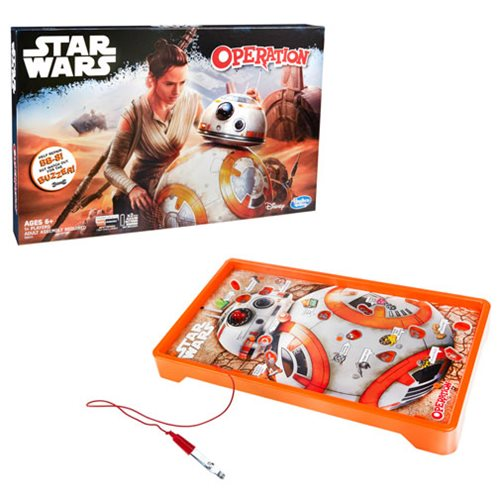Star Wars Edition Operation Game starring BB-8