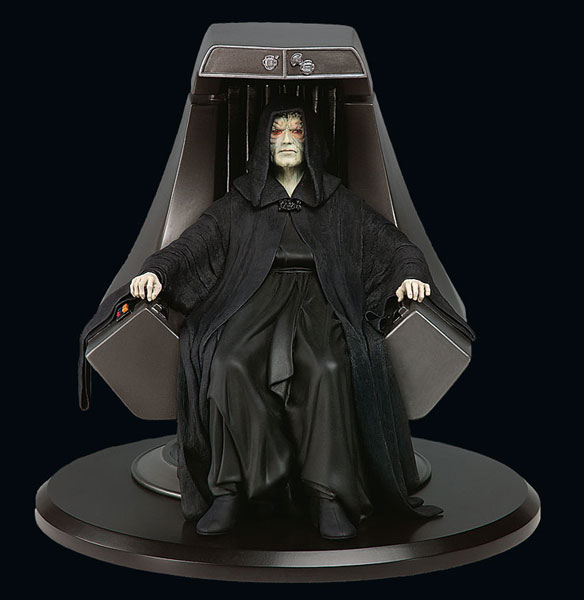 Star Wars Emperor Palpatine Resin Statue