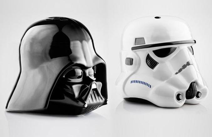 Star Wars Empire Salt & Pepper Shakers