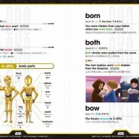Star Wars English Japanese Dictionary for Padawan Learners Inside