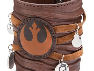 Star Wars Ep 7 Rey Leather Cuff Bracelet