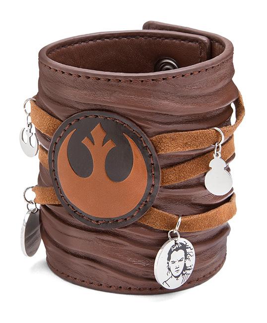 Star Wars Ep 7 Rey Leather Cuff Bracelet