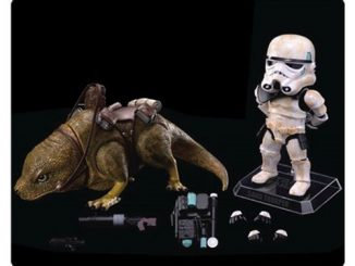 Star Wars Episode IV - A New Hope Dewback and Sandtrooper Egg Attack Action Figure