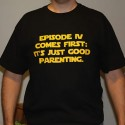Star Wars Episode IV Comes First TShirt
