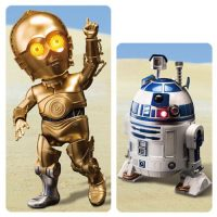 Star Wars Episode V - The Empire Strikes Back R2-D2 and C-3PO Egg Attack Action Figure 2-Pack