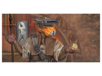 Star Wars Episode VI - Return of the Jedi Infiltrator Canvas Giclee Print
