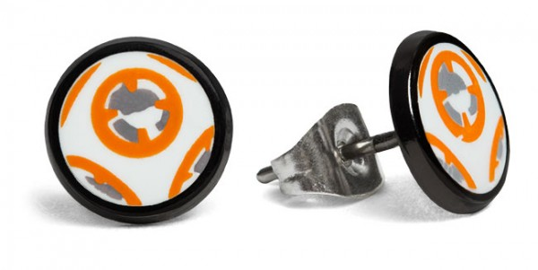 Star Wars Episode VII BB-8 Droid Stud Earrings