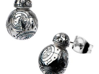 Star Wars Episode VII - The Force Awakens BB-8 Droid 3D Cast Stainless Steel Stud Earrings
