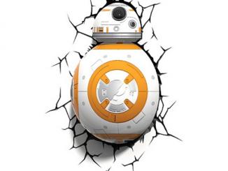Star Wars Episode VII - The Force Awakens BB-8 Droid 3D Light
