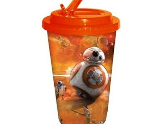 Star Wars Episode VII - The Force Awakens BB-8 Orange 16 oz. Flip Straw Travel Cup