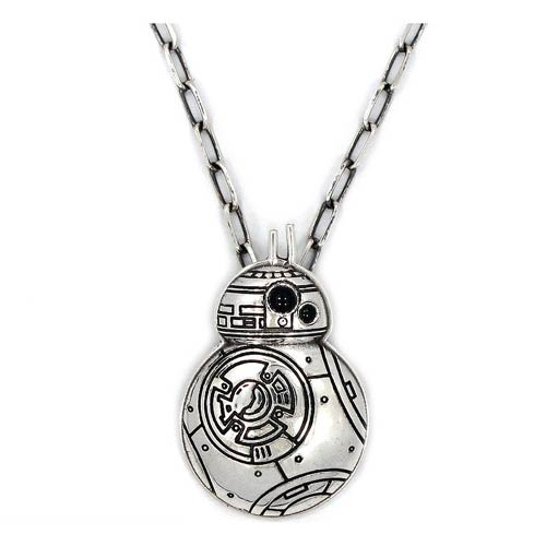 Star Wars Episode VII - The Force Awakens BB-8 Stainless Steel Pendant Necklace