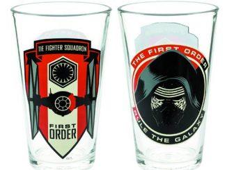 Star Wars Episode VII - The Force Awakens First Order Kylo Ren 10 oz. Glass Tumbler