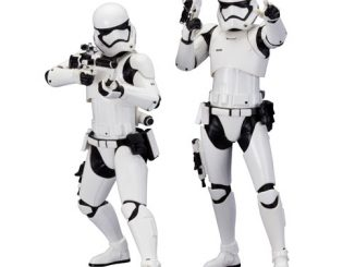Star Wars Episode VII The Force Awakens First Order Stormtrooper ArtFX+ Statue 2-Pack