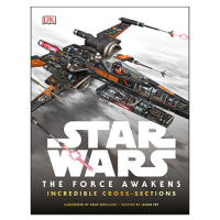 Star Wars Episode VII - The Force Awakens Incredible Cross Sections Hardcover Book