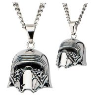 Star Wars Episode VII - The Force Awakens Kylo Ren 3D Cast Stainless Steel Pendant Necklace