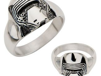 Star Wars Episode VII - The Force Awakens Kylo Ren 3D Cast Stainless Steel Ring