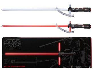 Star Wars Episode VII - The Force Awakens Kylo Ren Force FX Deluxe Lightsaber Replica
