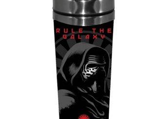 Star Wars Episode VII - The Force Awakens Kylo Ren Rule the Galaxy 16 oz. Stainless Steel Travel Mug