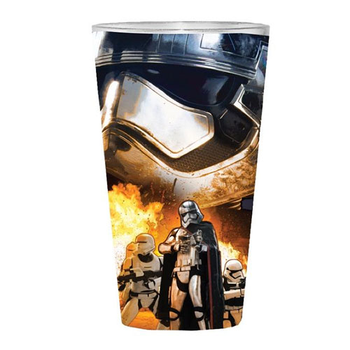 Star Wars Episode VII - The Force Awakens Phasma and Flametroopers 16 oz. Pint Glass