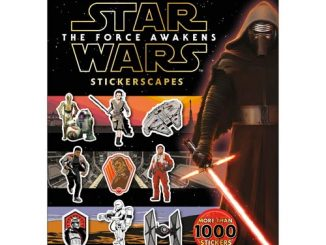 Star Wars Episode VII - The Force Awakens Stickerscapes Ultimate Collection Book