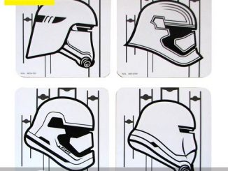 Star Wars Episode VII - The Force Awakens Stormtrooper Coaster 4-Pack