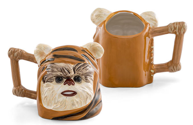 Star Wars Ewok 20oz Sculpted Ceramic Mug
