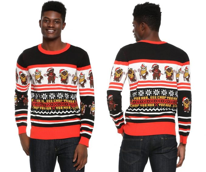 Star Wars Ewok Christmas Sweater